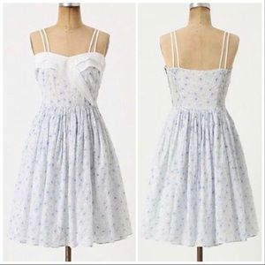 Anthropologie Girls from Savoy Beau Ideal Dress